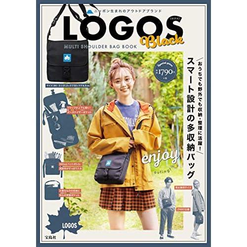 LOGOS MULTI SHOULDER BAG BOOK Black 画像