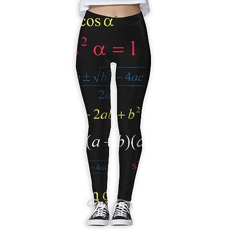 434fcc13c1033 Mathematical Formula Women's Funny Yoga Leggings Pants Sports Gym Yoga  Capri Leggings