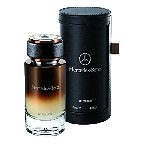 Mercedes Benz Le Parfum Perfume for Men EDP Spray 4.0oz 120ml in Leather Case
