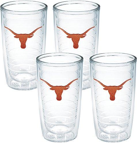 Tervis Texas University Emblem Tumbler (Set of 4), 16 oz, - Tumblers Collegiate