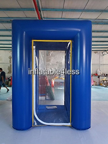 inflatable4less 8.5 FT Vinyl Inflatable Cash Cube Money Coupon Ticket Machine w/fans Customer Retail Store Sale Promotion ()