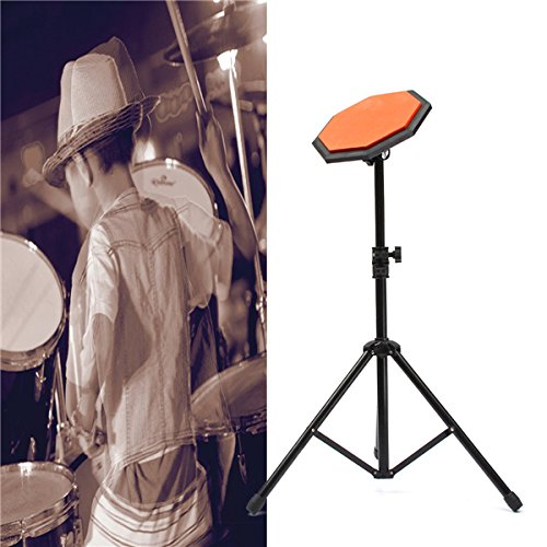 BangBang 8'' 21cm Rubber Dumb Drum Practice Pads Set with (8' Practice Drum Pad)