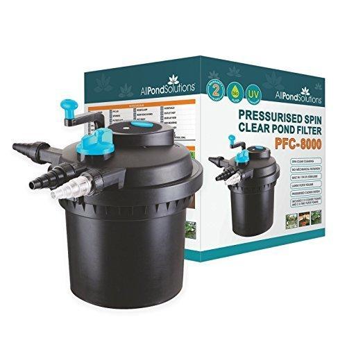 all pond solutions druckfeste koi teich filter uvc sterilisator f r pfc 8000 liter g nstig kaufen. Black Bedroom Furniture Sets. Home Design Ideas