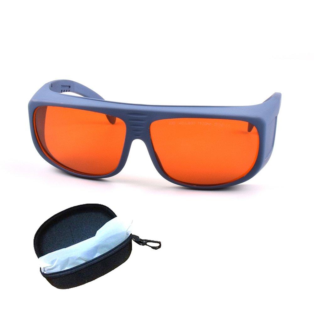 protecci/ón completa 190 ~ 540 nm y 800 ~ 1100 nm IR l/áser infrarrojo 808 nm 980 nm 1064 nm UV l/áseres protecci/ón de ojos CE OD4 VLT30 /% Gafas de seguridad l/áser para l/áser de 405 nm 450 nm 532 nm