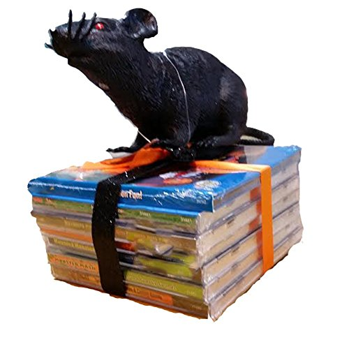 Costumes That Start With G (Halloween Party Gift Bundle With Halloween Music CDs and A Fake Rat)