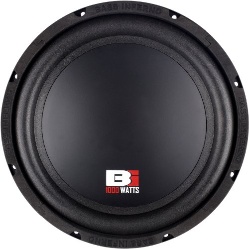 Bass Inferno BPW12D 12-Inch 2000-Watts 4-OHM DVC Subwoofer