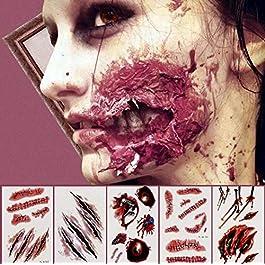 Halloween Tattoos zum Verschenken oder selbst nutzen