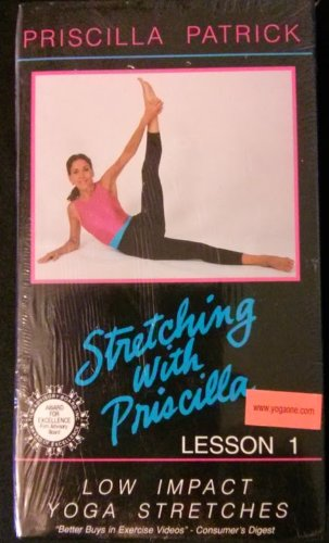 Stretching With Priscilla Lesson 1 Low Impact Yoga Stretches [VHS]