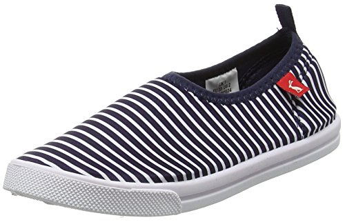 Tom Joule Jungen Jnr Pebble Dusch-& Badeschuhe Blau (Navy Stripe)