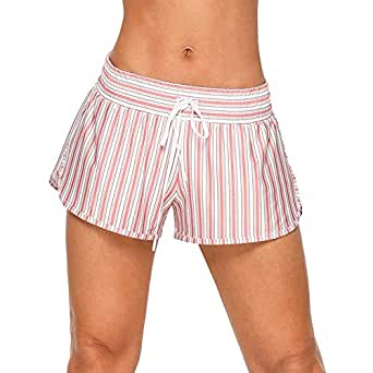 Lorna Jane Women's Vintage Stripe Run Short, Vintage Stripe Print, S