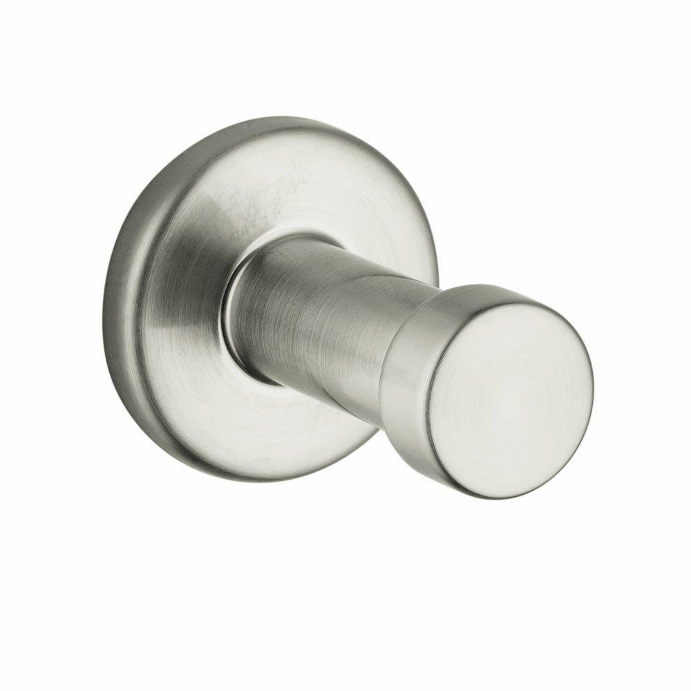 Axor HG41537820 Citterio Single Robe Hook, Brushed Nickel