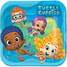 Bubble Guppies Square Dinner Plate