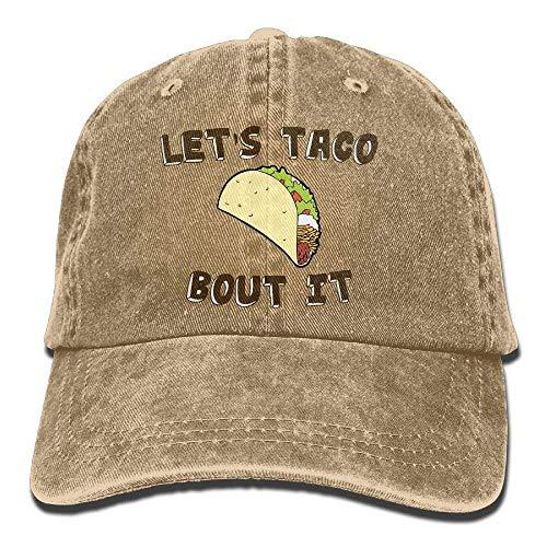 Sport DEFFWB Bout Cap Cowboy Women IT for Cowgirl Skull Denim Let's Taco Men Hats Hat tqZBartv