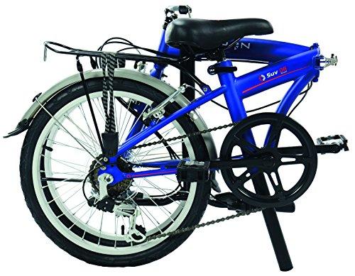 Dahon SUV D6 bicicleta plegable mixta, color Blue Suede, tamaño Taille 20: Amazon.es: Deportes y aire libre
