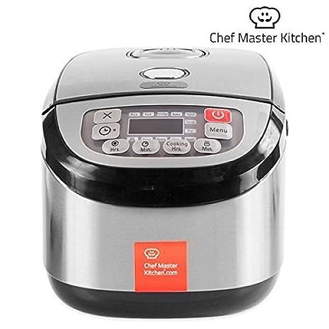 Chef Master Kitchen inox Cook Robot da Cucina 1,8 L - 900 W - 12 ...