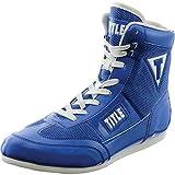 TITLE Hyper Speed Elite Boxing Shoes, Blue, 6.5