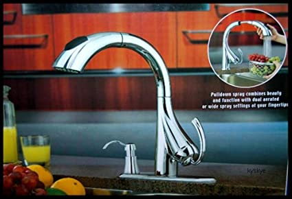 Water Ridge Pull Down Kitchen Faucet 205674 - Touch On Kitchen Sink ...