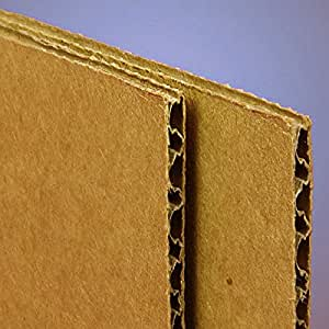 """Corrugated Cardboard Sheets 36"""" X 48"""" - Sheets and Pads - 20 each by Paper Mart"""