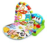 Kick and Play Piano Gym, Baby Play Mat Newborn Toy, Lay, Sit