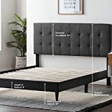 LUCID Upholstered Bed with Square