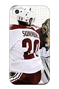 Florence D. Brown's Shop Best phoenix coyotes hockey nhl (70) NHL Sports & Colleges fashionable iPhone 4/4s cases 2146990K504044417