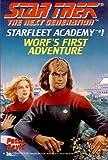 Worf's First Adventure, Peter A. David and Peter David, 067187084X