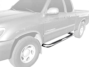 2000-2006 Toyota Tundra Access Cab Only Nerf Bars Side Steps fits Ionic 3 Stainless 230947