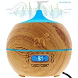 ArtNaturals Essential Oil Diffuser and Humidifier – Electric Cool Mist Aromatherapy Aroma Diffuser – Therapeutic Spa Fragrance For The Whole House – Auto Shut-off & 7 Color LED Lights Changing