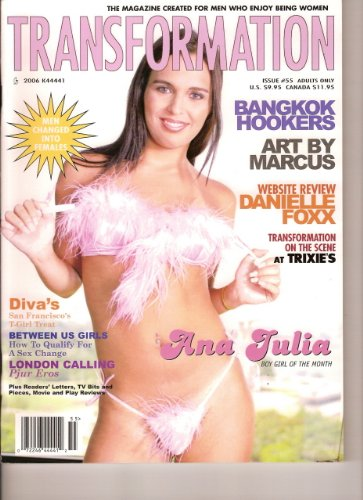 Transformation transvestite adult erotica magazine (Issue #55) ebook