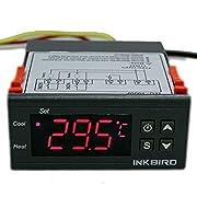 Amazon Lightning Deal 100% claimed: Inkbird 110V ITC-1000 All-Purpose Digital Temperature Controller Fahrenheit & Centigrade Thermostat + 2 Relays Sensor