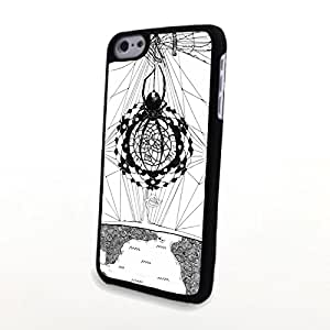 Generic Unusual Dream Catcher PC Phone Cases fit for iPhone 5C Cases Hard Carrying Case Plastic Cover Matte Shell Protector Clear and Light