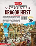 Book cover from Dungeons & Dragons - Waterdeep Dragon Heist DM Screen by Wizards RPG Team