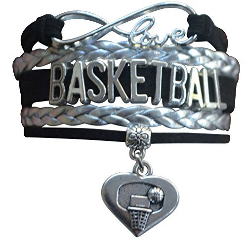 Basketball Bracelet- Charm Bracelet- Basketball Jewelry For Girls- Perfect Basketball Gift - Basketball Charm Bracelet