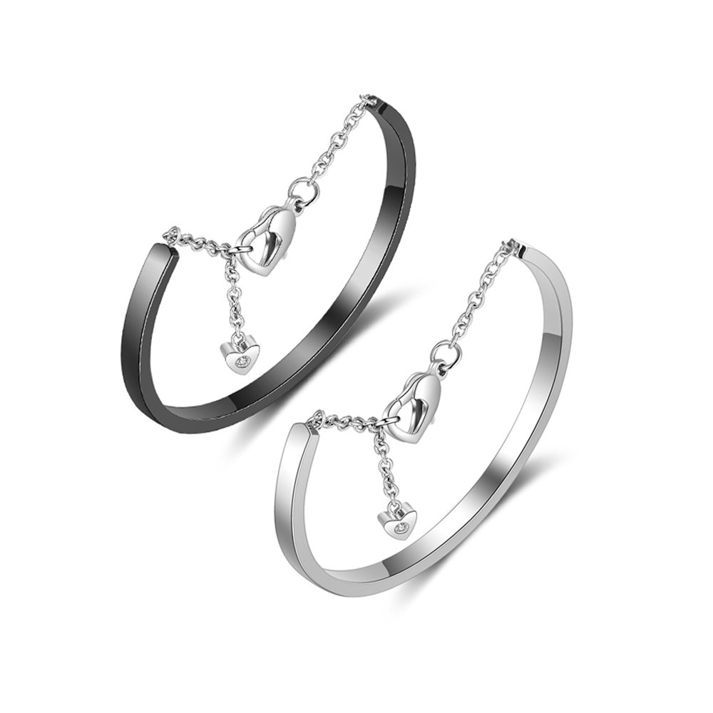Personalized Womens Stainless Steel Bracelets with Names Love Cuff Bangle Bracelets Engraved for Friends Lovejewelry BA102068