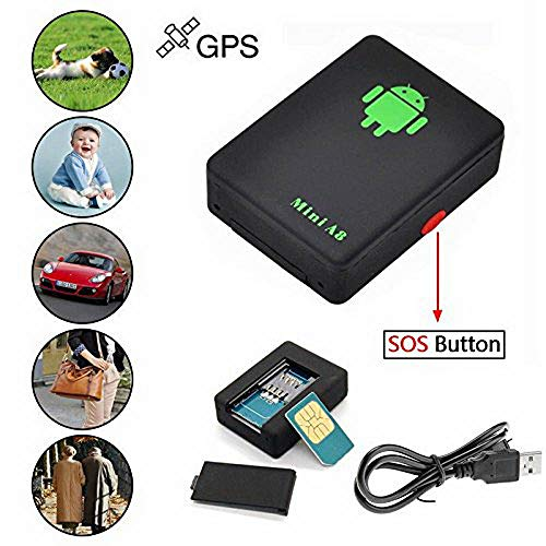 GPS Tracker Mini A8 Global Locator Real Time Monitoring GSM/GPRS/GPS  Anti-Theft Tracking Device for Car Kid Pet Elderly People