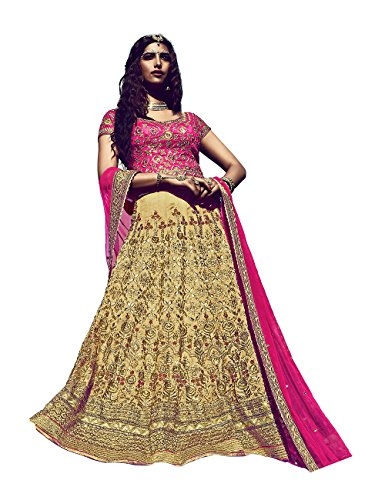 Da Facioun Indian Women Designer Wedding CHIKU Lehenga Choli SS-10011
