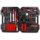 electronic tools - Hi-Spec 60 Piece Electronics Electrical Engineer Tool Kit with 30W Soldering Iron, Desoldering Pump, Wire Crimper, Stripper, Cutter, Magnetic Ratcheting Screwdriver and Bits, IC Extractor Tool in Case