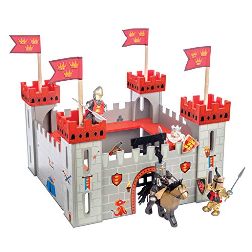 Le toy van castle playset, my first castle red