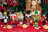 Clever Creations Traditional Wooden Nutcracker