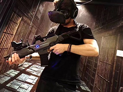 VR Gun Controller for HTC VIVE Accessories Virtual Reality VR headset Device for FPS Shooting Games ,Game Gun Joysticker Gamepad and Motor Vibration