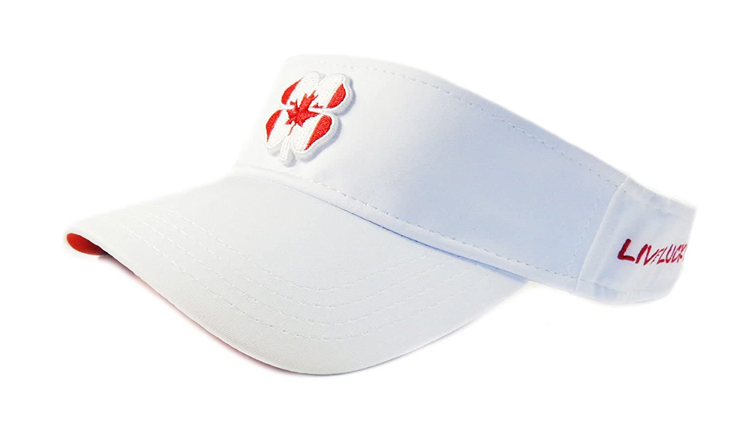 c7a6f7327 Amazon.com: Black Clover New Live Lucky BC Style Canada #1 White/Red ...