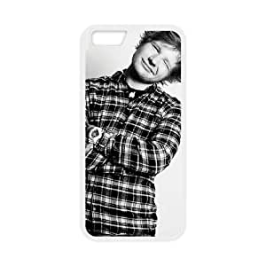 iPhone 6 Plus 5.5 Inch Cell Phone Case White Ed Sheeran qpxd