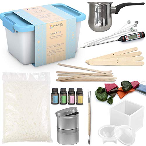 soy wax candle making kit - 9
