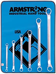 Armstrong 6 Piece 12 Point SAE 45 Degree Deep Offset Box Wrench