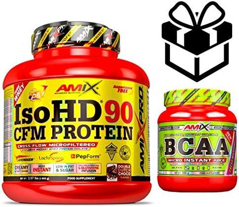 Amix Pro Iso HD 90 CFM Protein 1800gr Choco Blanco + Bcaa ...