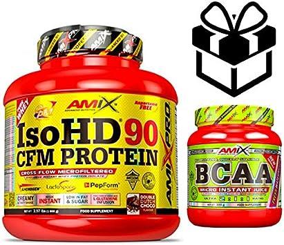 Amix Pro Iso HD 90 CFM Protein 1800gr Vainilla + Bcaa Instant ...