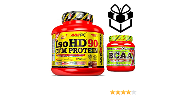 Amix Pro Iso HD 90 CFM Protein 1800gr Doble Choco + Bcaa ...