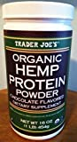 Trader Joe's 16 Oz. Organic Hemp Protein Powder Dietary Supplement (Vanilla)