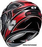 High Kick Digital Wireless Helmet LED Brake and Turn Signal Light Indicators (Helmet Not Included) HK-4058Z