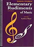 img - for TWER - Elementary Rudiments of Music, 2nd Edition book / textbook / text book
